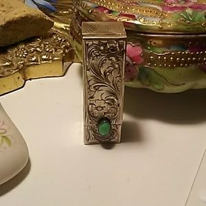 Vintage Accessories - Rare 1900s lipstick compact